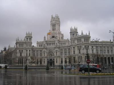 Llueve, Madrid, llueve